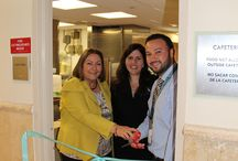 Cafeteria Reopening 2014 / Our completely remodeled cafeteria at Larkin Community Hospital has been reopened!