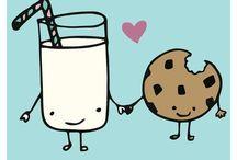 biscoito e leiti