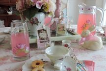 Tea Time / Take a few minutes out of your day to relax with a cup a tea or better yet host an old fashioned tea party! Browse this board for tea related decor and decorating inspiration.
