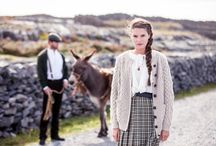 Story of Aran / The Story of Aran collection celebrates the heritage of the precious Aran Sweater and its birthplace of Aran.