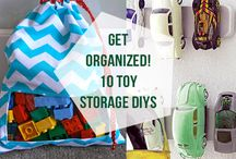 Storage & Organization for Baby's Toys / by BabiesRUs