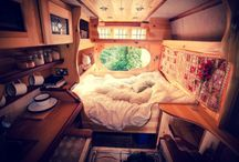 Camper heaven / Dreaming of small spaces on wheels...