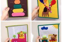 Quiet Book Mimagenta / Diy manualidades infantiles
