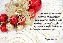 text vánoční
