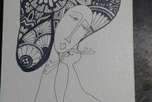 mis dibujos Zentangle