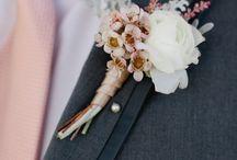 květinové šperky, korsáže, doplňky