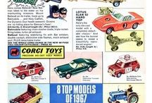 Corgi Toys Model Cars / Model Toys & Cars Made in G.T. Great Britain