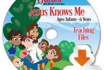 Early Childhood / Preschool Curriculum / Jesus In Jeans Jr Curriculum promises to make your preschoolers giggle in anticipation, wiggle with excitement, dig-gle into God's truth, and jiggle with joy as they discover Jesus' life changing truths. Our prayer is that you will have as much fun sharing Jesus' love and teachings with your little ones as we've had writing it for them!