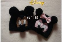 kintted kids hats