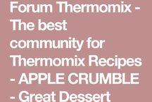 Thermomix desserts
