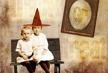 Art Made Using Hidden Vintage Studio Images! / I love seeing all the creations made using my images found at Deviant Scrap! / by Tracey Parker