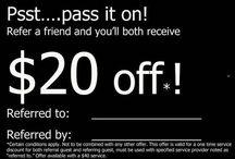 Refer a friend card