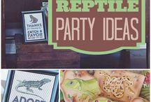 Reptile/insect party