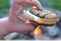 Camp fire foods & snacks!