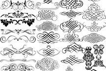 florituras lettering