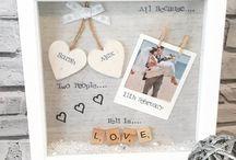 frame box love