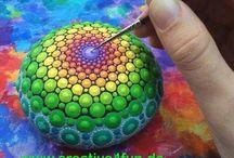 Wir lieben Farbe ... / Farbe macht den Alltag bunt ...