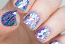 fish nail art gallery by nded / fish nail art gallery by nded