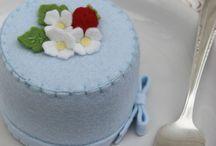 Vilt: cupcakes