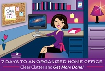7 Days To An Organized Home Office - AFTER! / For customers of 7 Days To An Organized Home Office http://www.getorganizedwizard.com/my-account/7-days-to-an-organized-home-office/