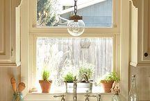 kuchnia szafki okno