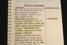 Prayer/Journaling