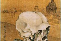 Kawanabe Kyōsai / Kawanabe Kyōsai 河鍋暁斎 (1831-1889) also Gyôsai Kawanabe or Gyôsai Chikamaro