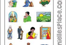 Bible Activity Sheets