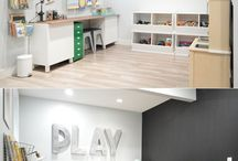 Playroom Reading Room Office Combo