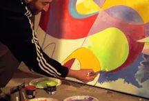 my videos / Painting, graffiti, street art, urban art, mural painting, public art, interior design, decoration,