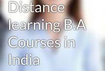 Best Distance learning BA in Delhi