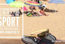 Soniapew sport / Gafa de sol de bambú #soniapew deportivas