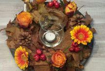 Herfst bloemstukken