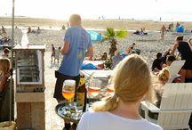 Eten aan zee / Mooie plekjes aan zee om te eten of drinken.