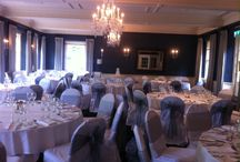 Swan Hotel, Bibury / Wedding and event chair covers