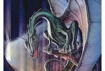 dragons 'n fey / Dragons, fairies, mermaids, gnomes, trolls, animated animals n plants