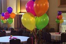 Balloon Table Centres Of 5