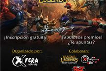 Banners Torneo / Banners para un torneo de League Of Legends para Xferavirtual.com