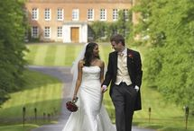 Braxted Park, Essex / Braxted Park is a stunning, exclusive wedding venue in Essex. Couples can choose one of the reception rooms within the house for the civil ceremony, the impressive Orangery, or the Lower Walled Knott Garden.