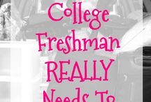 College For Mel / by Pam Christopherson