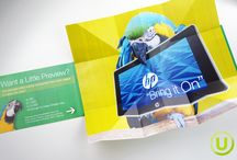 Specialty Print Offerings / 3-dimensional, engaging, and exciting print options!
