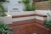 Deck courtyard