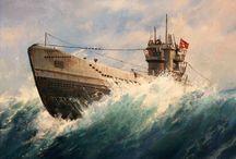 ww2 German U-Boats