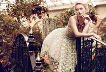 Botanical Fashion Shoot
