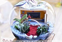 Lunlun Temalı Teraryumlar - Terrariums with themes