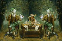 Fantasy art - Michael Cheval