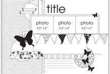 Scrapbooking 3 Pics / by Christine - Hoodoo Designs