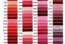 DMC colours