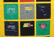 """Keepsake Theme Quilts / We collect customers' t-shirt quilts into a quilt! We made so many kinds of theme quilts: hobbies, sports, college, high school, running marathon, and many more! Our motto: """"You make the memories, we make the quilts!"""""""