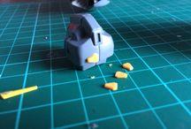 WIP - Custom Zeta (Heavy Defense Unit) / Work in progress of my custom MG Zeta Heavy Gunner